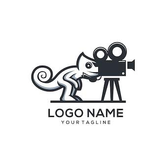 Camaleon logo de la pelicula