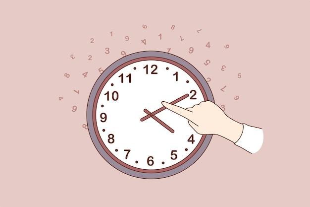 Cambio de concepto de tiempo