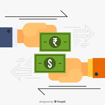 Cambio de moneda rupia india