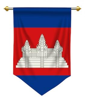 Camboya banderín