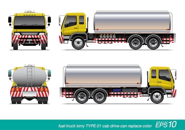 Camión de aceite