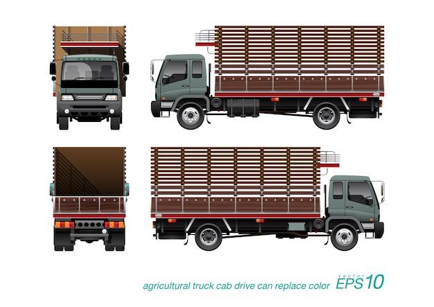 Camion agrícola