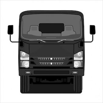 Camión de ilustración,