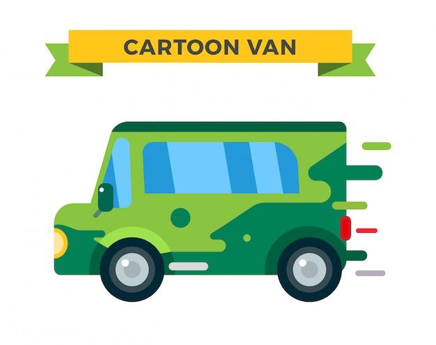 Camion de vectores de entrega