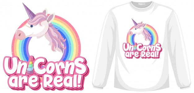 Camisa de manga larga unicornio