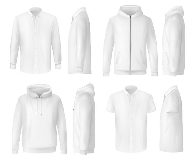 Camisa, polo y sudadera con capucha, ropa masculina s
