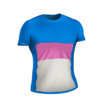 Camisa realista en blanco