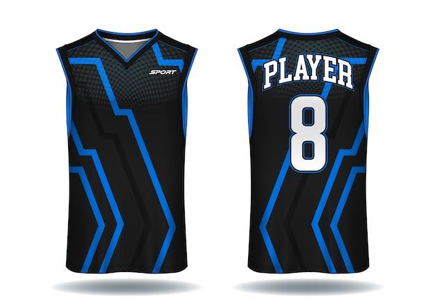 Camiseta de baloncesto, ilustración de deporte de la camiseta.
