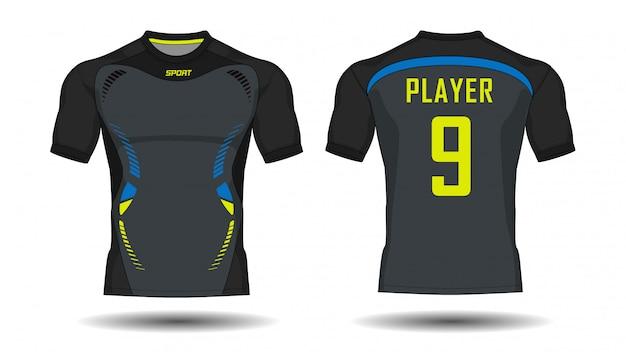 Camiseta deportiva de jersey de fútbol