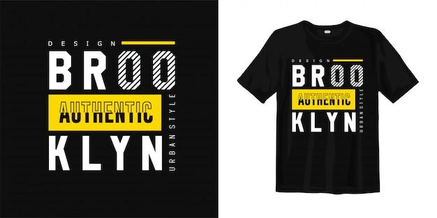 Camiseta estilo urbano de brooklyn