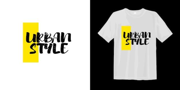 Camiseta estilo urbano