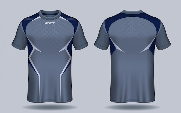 Camiseta de fútbol deportiva con diseño de camiseta.