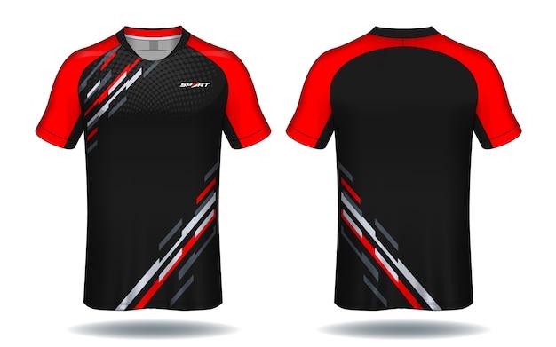 b6591a0fdd024 Camiseta de fútbol template.sport diseño de camiseta.
