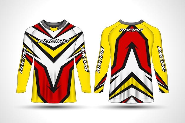 Camiseta de manga larga sport moto jersey