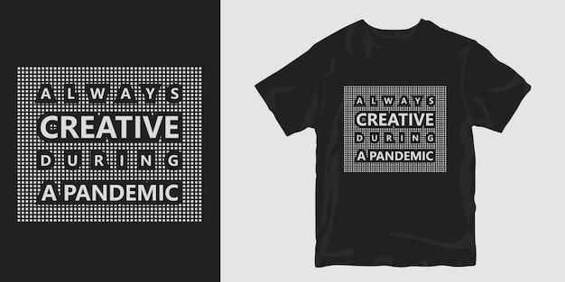 Camiseta con pandemia del virus corona