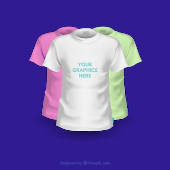 Camiseta plantillas de diseño