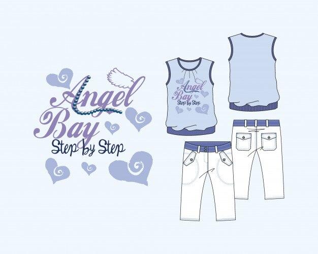 Camiseta tang top angel bay
