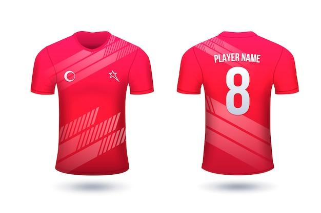 Camisetas de fútbol para jugadores con números
