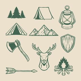 Campamento al aire libre