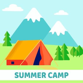 Campamento de verano scout