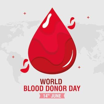 Campaña del día del donante de sangre