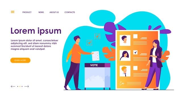 Campaña electoral o referéndum.
