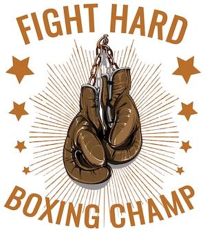Campeón de boxeo