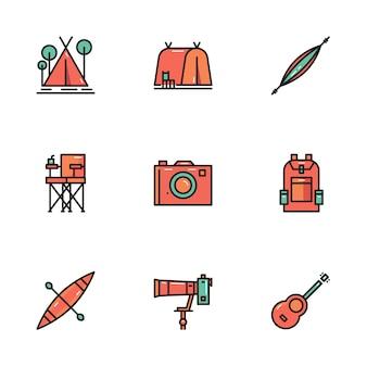 Camping y herramientas de exterior.