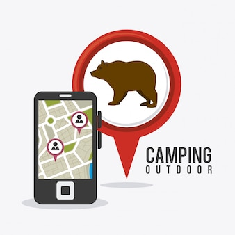 Camping viajes y vacaciones.