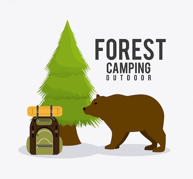 Camping, viajes y vacaciones.