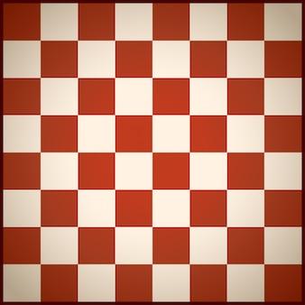 Campo de ajedrez rojo