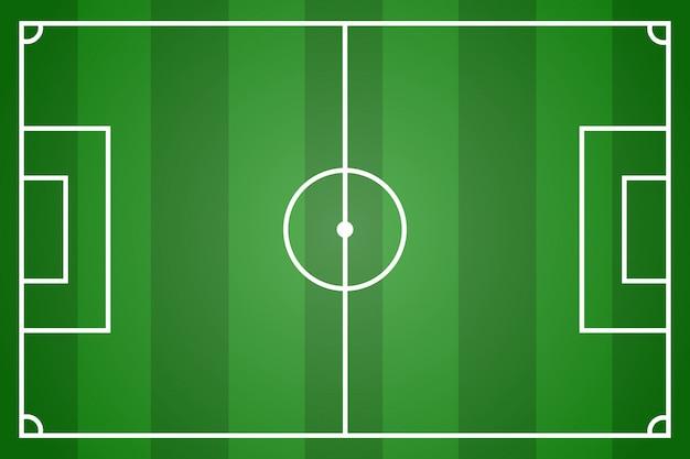 Campo de futbol verde