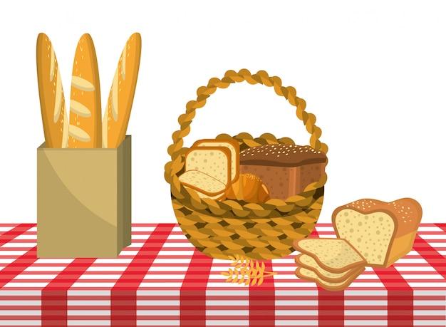 Canasta de panes