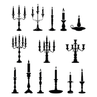 Candle candlestick chandelier classic ornament