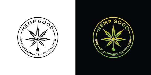 Cannabis marihuana cáñamo cbd logo