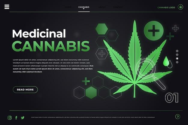 Cannabis medicinal - página de inicio