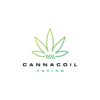 Cannacoil logo de la bobina de cannabis