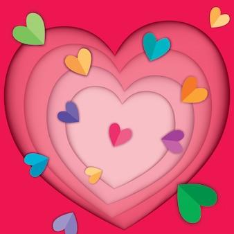 Capa de corazon