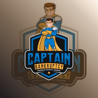 Capitán seguridad logotipo