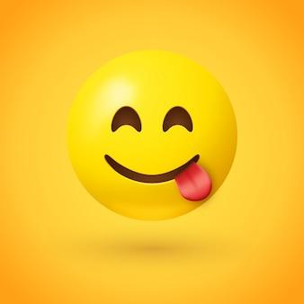 Cara sabrosa comida emoji