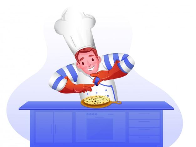 Carácter de chef.