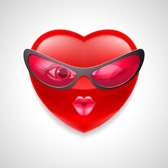 Carácter de corazón