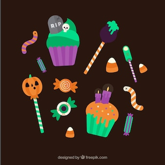 Caramelos para celebrar halloween