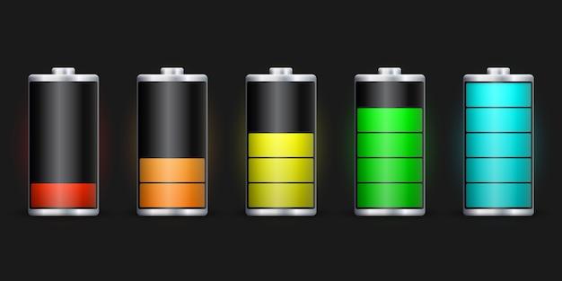 Carga de batería de energía completa.