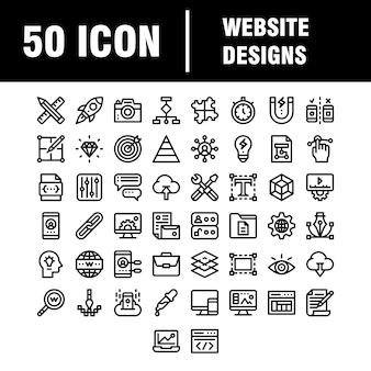 Carga de plantillas de ss iconos de desarrollo y web de línea delgada establecidos para sitios web y sitios móviles y aplicaciones. pixel perfecto. carrera. paquete de pictogramas lineales simples.