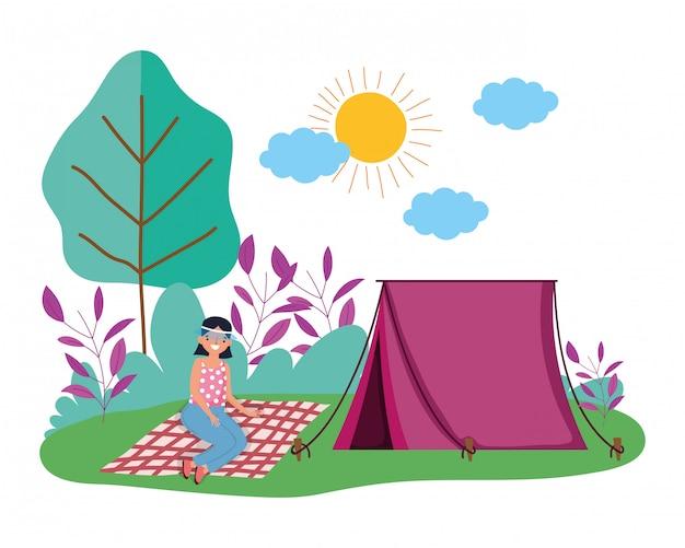 Carpa y camping