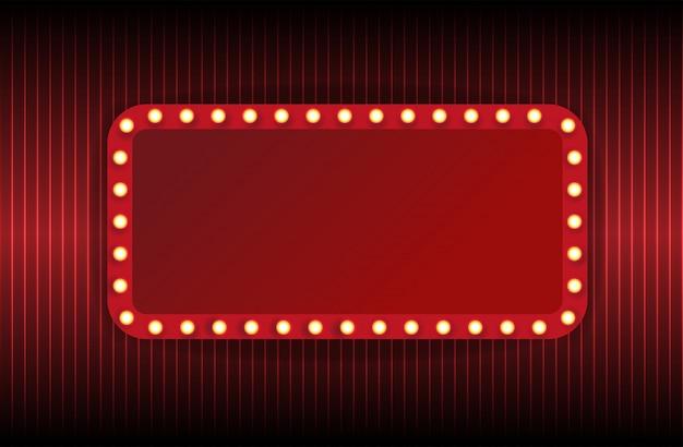 Carpa de teatro aislada en blanco
