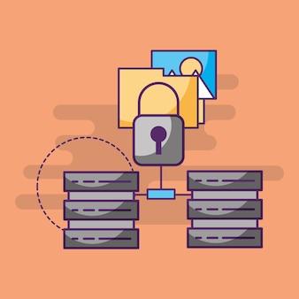 Carpeta de seguridad de la tecnología del centro de datos