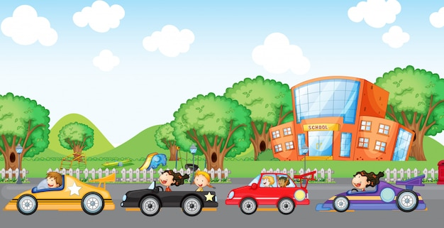 Carreras de coches para niños