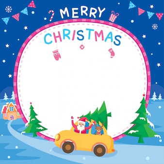 Carro de navidad